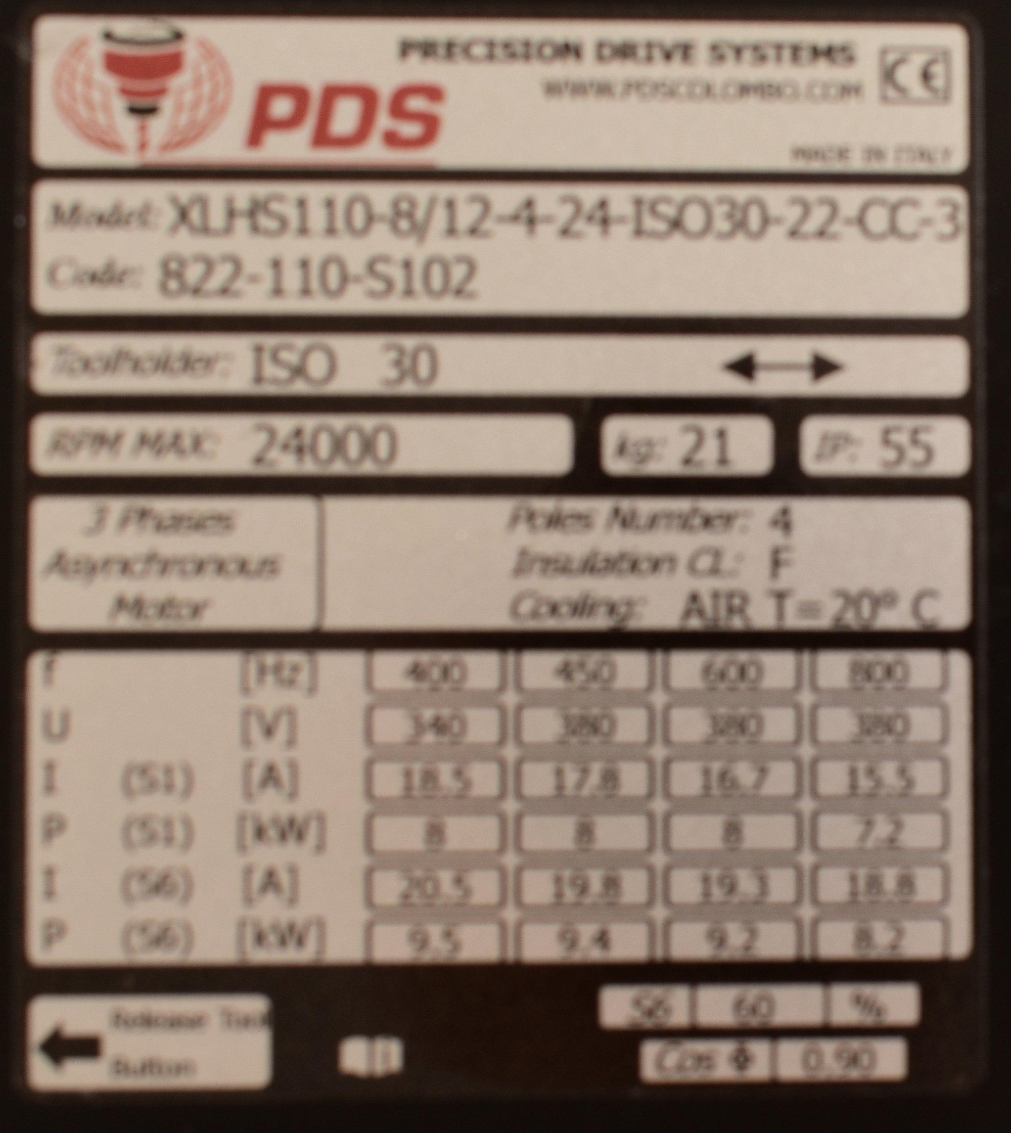 QE-1F 8_12 24 I30 NC CB - Name Plate Sn IP0005 - PDS